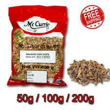 Sun Dried Maldive Tuna Spice FISH CHIPS for Curries From Ceylone Mc Currie