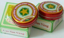 GOLDEN Star aromatica balsamo-rimedio naturale-per raffreddore, naso che cola... BOX 10 G