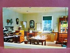 Postcard NJ Wheaton Museum of Glass Interior Kitchen Display