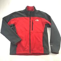 The North Face APEX Bionic 2 Mens Medium Red Soft Shell Full Zip Jacket