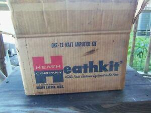 HEATHKIT UA-1 MONO AUDIO VACUUM TUBE POWER AMPLIFIER NIB/NOS  UNBUILT !!!