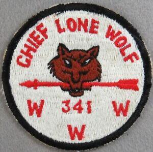 OA Chief Lone Wolf 341 R1 BLK Bdr. Adobe Walls Area, TX (GLUE ON BACK) [TK-1222]