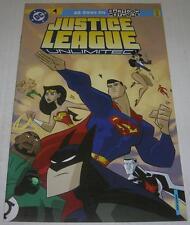 JUSTICE LEAGUE UNLIMITED #1 MATTEL ACTION FIGURE REPRINT (DC 2005) (VF-) RARE