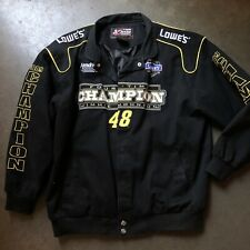 Mens Chase Authentic Jimmie Johnson 2009 Sprint Cup Series Champion Jacket Sz XL