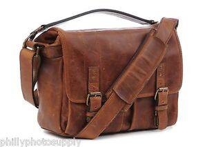 ONA Prince Street Leather (Cognac) Camera Messenger Bag >Handcrafted Premium Bag