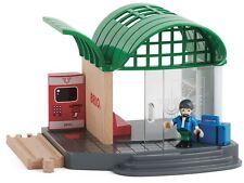 Brio TRAIN STATION Wooden Toy Train BN