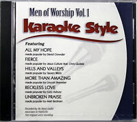 Men Of Worship Volume 1 Christian Karaoke Style NEW CD+G Daywind 6 Songs