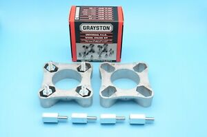 GRAYSTON SP41 PAIR Austin Classic Mini Wheel Spacer Kit 32mm with Studs 3/8 UNF