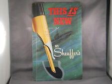 Sheaffer Vintage Early Snorkel Advertising Piece--6 pages