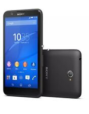 "SONY XPERIA E4 E2105 5"" 8GB Negro Desbloqueado SIM Libre Smartphone Nuevo"