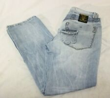 Takeshy Kurosawa Jeans Mens 32×32 Hand Made in Italy Distressed Blue