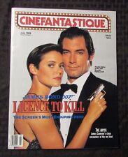 1989 CINEFANTASTIQUE Magazine v.19 #5 VF+ James Bond 007 Licence To Kill