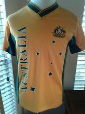 NWT HOXLEY Australia Mens National Team Soccer Jersey Shirt Size S  P10166