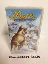 BALTO SULLE ALI DELL' AVVENTURA - VHS - NUOVO VERSIONE ITALIANA