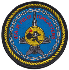 Strike Fighter Squadron 31 VFA-31 United States Navy USN Felix Embroidered Patch