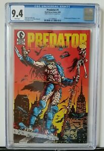 Predator #1 CGC 9.4 WP ! First appearance in comics !! Dark Horse (not CBCS 9.8)