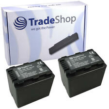 2x AKKU für Panasonic SDR-H101GK SDR-H80 SDR-H85A SDR-H85K SDR-H85S mit Infochip