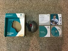 Logitech TrackMan Wheel Optical Wired USB PC Mac Mouseware User Guide
