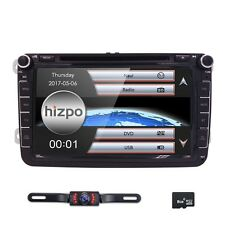 "Camera+GPS Navigation 8"" Wince 6.0 Car Stereo CD DVD Player Radio SD USB for VW"