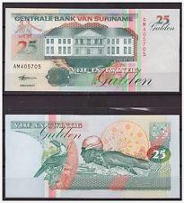 Surinam / Suriname P 138d 25 gulden 1998 UNC