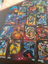 36 Marvel Trading Card Various Heros/Villians