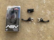 ASV C6 Shorty Brake Clutch Levers 15 KTM 200 XC-W 250 Matte Black Lever