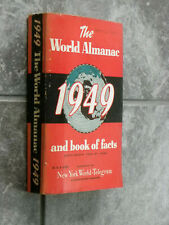 1949 World Almanac-1948 Data-Sports-Stats-Countries Of The World