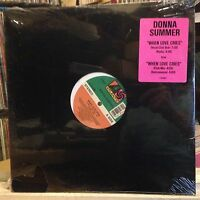 "[SOUL/FUNK/JAZZ]~SEALED 12""~DONNA SUMMER~When Love Cries~{x4 Mixes/Remixes]~1991"