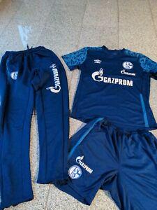 Trainingsshirt ,Hose , Hose Schalke 04, Gr M Gazprom Umbro  3tlg. Paket