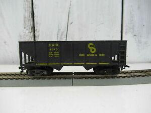 Revell C&O Chesapeake & Ohio Hopper Train Car HO 4040