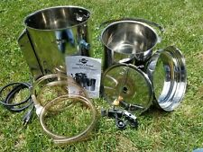 Coburn Stainless Steel Home Milk Pasteurizer New