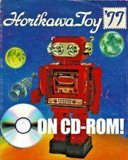 VINTAGE 1977 HORIKAWA TOYS JAPAN TIN TOY ROBOT CATALOG ON CD-ROM! + BONUS PAGES!