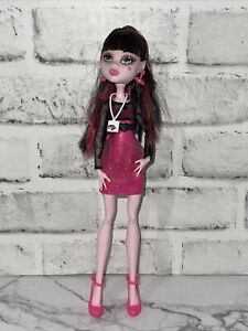 Draculaura Music Festival Monster High Doll COMPLETE