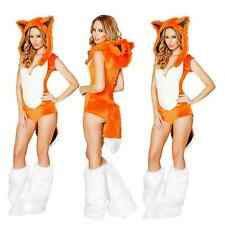 Women Sexy Fox Costume Cosplay Facny Dress Party Outfit Halloween Uniform Wear