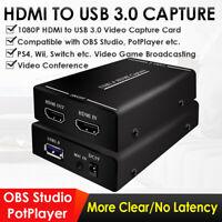 Original HDCVT HDV-UH60 HDMI to USB3.0 Video Capture Dongle converter