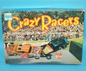 CLIPPER SSP CRAZY RACERS GIFT SET TOM & BEETLE COMPLETE BOXED EURO BOX 1970s HTF