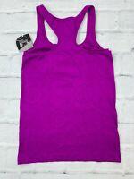 New Danskin Now Women's L 12-14 Razor Back Active Gym Training Tank Top Purple