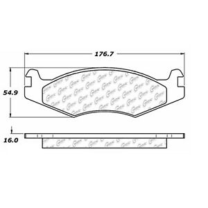 StopTech 106.06510 Disc Brake Pad Fits 92-02 H1 Hummer