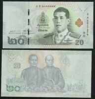 THAILAND 20 Baht, 2019, P-135, UNC World Currency
