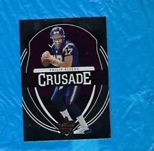 PHILIP RIVERS 2006 LEAF ROOKIES AND STARS CRUSADE PURPLE #24/25 CHARGERS ! !