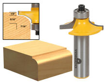 "1-3/8"" Diameter Thumbnail Table Edge Router Bit - 1/2"" Shank - Yonico 13139"