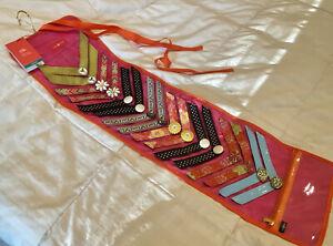 Lindsay Phillips Lot 8 Switchflops Straps + NEW Travel Bag
