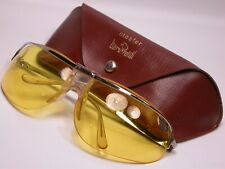 New listing Vintage Baruffaldi Mcqueen Motorcycle Shield Sunglasses Shades Made in Italy
