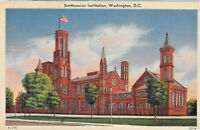 1940's Postcard Smithsonian Institution Washington DC