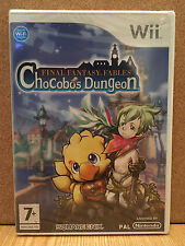 Final Fantasy Fables Chocobos Dungeon for Nintendo Wii English PAL