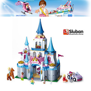 Sluban Girls Dream Construction Set - Traum-Schloss - M38-B0610 - 815 Pcs - New