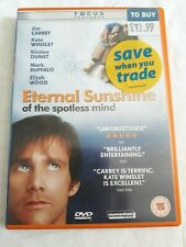 Eternal Sunshine of the Spotless Mind Dvd Jim Carrey & Kate Winslet
