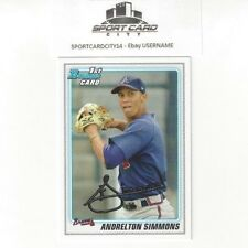 2010 Bowman Draft ANDRELTON SIMMONS Rookie RC #BDPP23 N/M Angels.