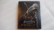 Assassins Creed orígenes STEELBOOK sólo para PS4/Xbox One (por favor, lea, sin juego)
