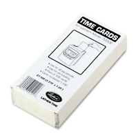 Lathem Time Time Card for Lathem Model 7000E Numbered 1-100 Two-Sided 100/Pack